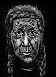 Face of Peru