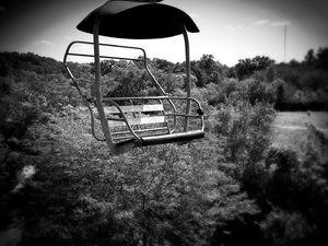 Sky bench