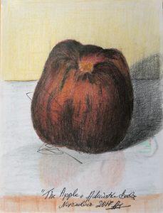 A very sweet apple. - Adriatik Balos