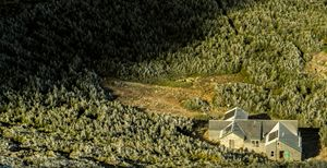 Hut from Above - Max Ablicki - Adventure Photography