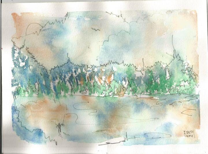 Painting 1 - Frank Seth