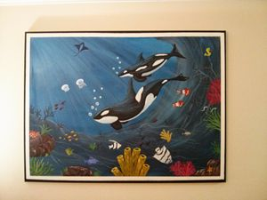 Under the  Sea Painting.