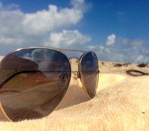 """Sunglasses at the Beach"""