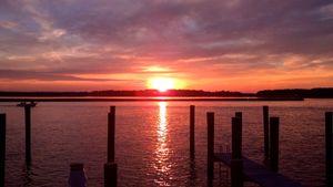 """Sunset at Kent Narrows MD II"""