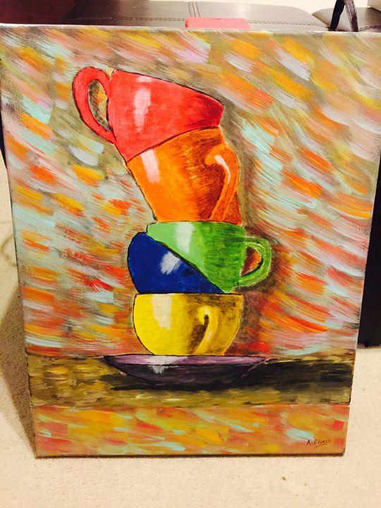 COLLORFUL CUPS - ALEX