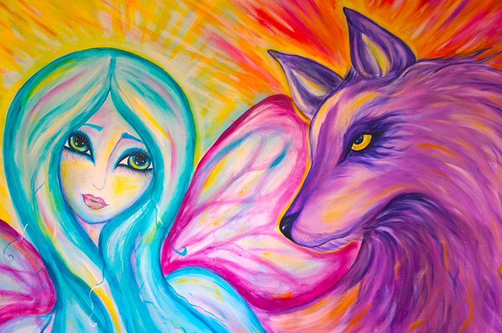Her Protector - Marley Art