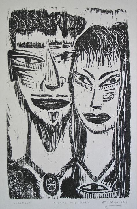 JOSEPH AND MARY - Kostas The Artist