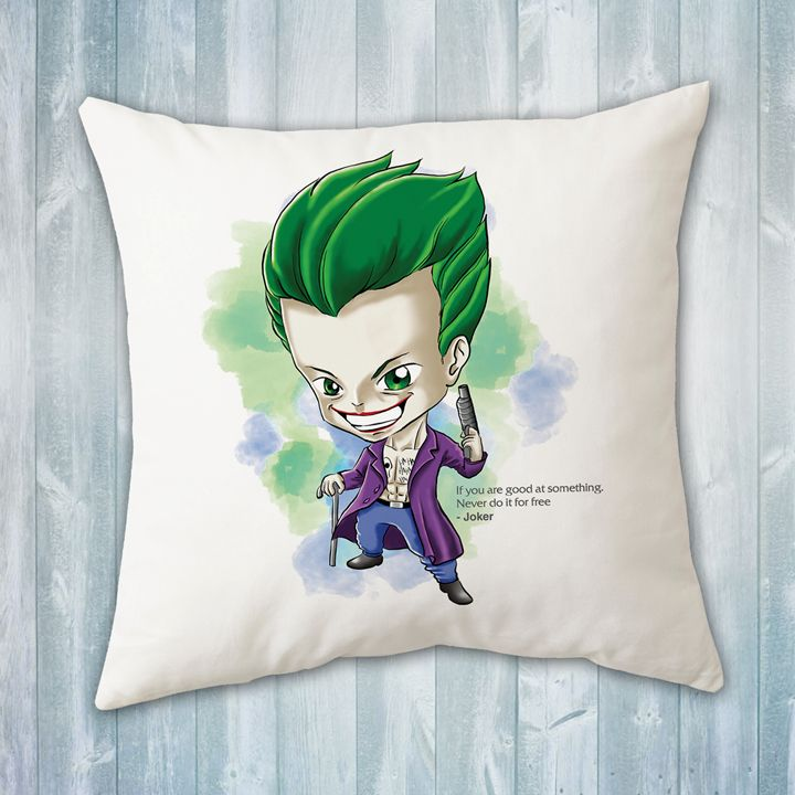 Chibi Joker Pillow - Evershades