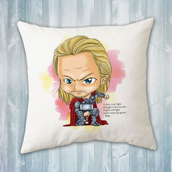 Chibi Thor Pillow - Evershades