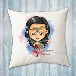Chibi Wonder Woman Pillow
