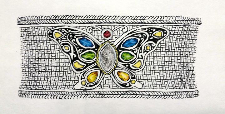 Butterfly Bracelet - The Autistic Artist