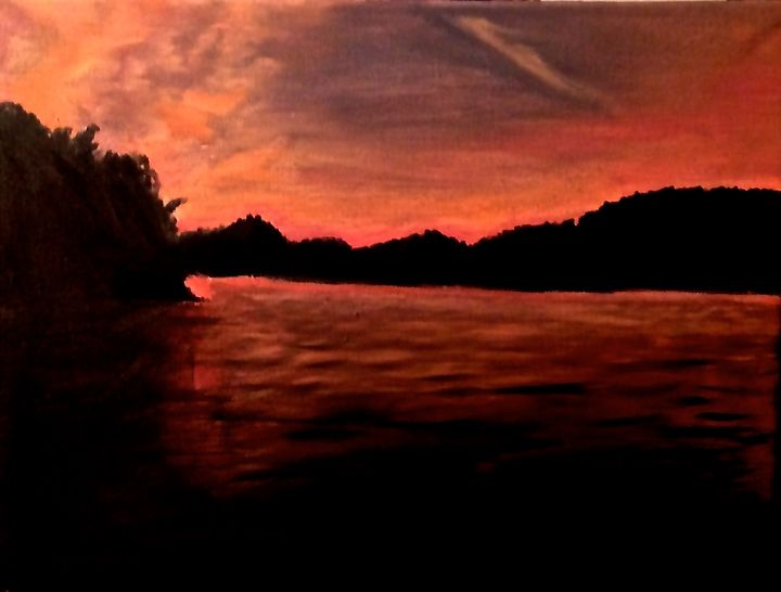 Sunset - The Autistic Artist