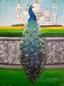Majestic Peacock - The Autistic Artist