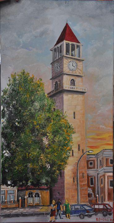 Clock Tirana by Frederik Proko - albo gallery