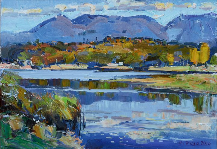 Autumn at the lake ofTirana - albo gallery