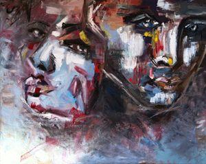 "Art Oil Painting ""Emptines"""