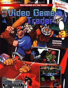 Video Game Trader #28 Cover Design