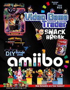 Video Game Trader #33 Cover Design