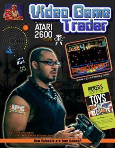 Video Game Trader #34 Cover Design