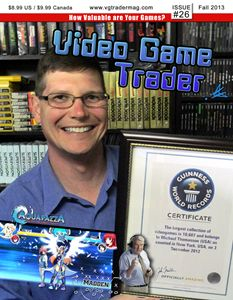 Video Game Trader #26 Cover Design