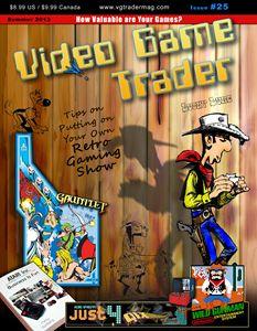 Video Game Trader #25 Cover Design