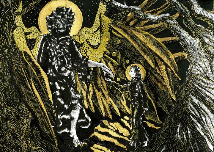 Annunciation - Brooksie Fontaine