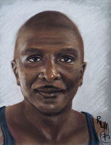 Ronnie Melvin, self-portrait