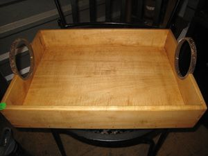 Tray made from Red Maple