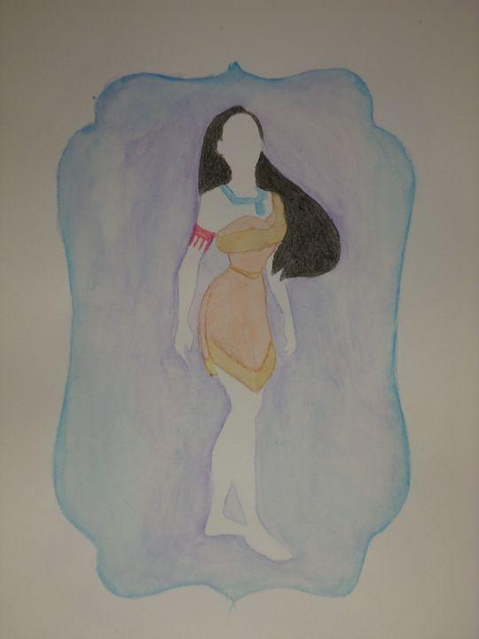 """""""Pocahontas"""" - Artwork by Lizzy Chmielecki"""
