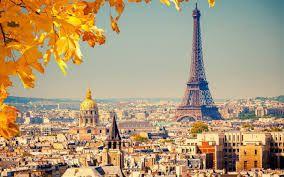 Eiffel Tower Room Wallpaper