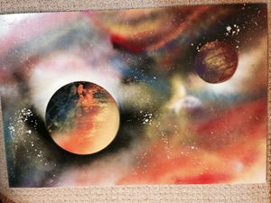Space Paint - Dos Planets