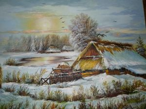 Winter deep in the countryside...