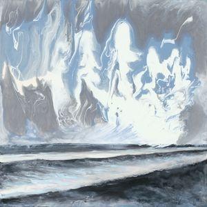 Sea Billows Roll - Lisa Jan-Bohne' Clay