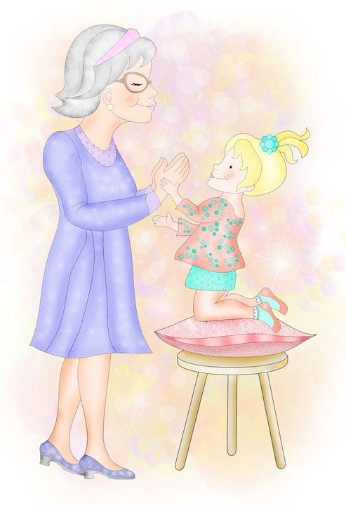 Patty Cake With Grandma - Aviva Gittle Gifts
