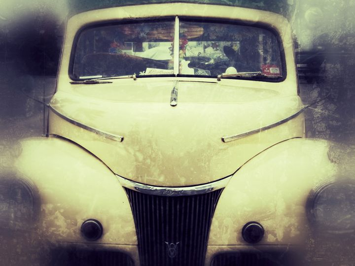 vintage truck - Lisa Welcher Art