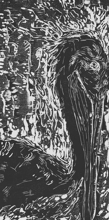 Bird in Dessolute - Eureka Gallery