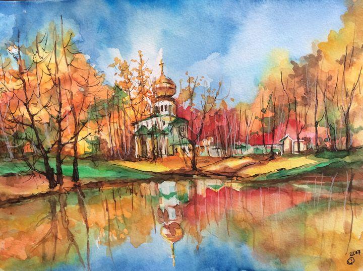 Orthodox Church - Oksana Gulina