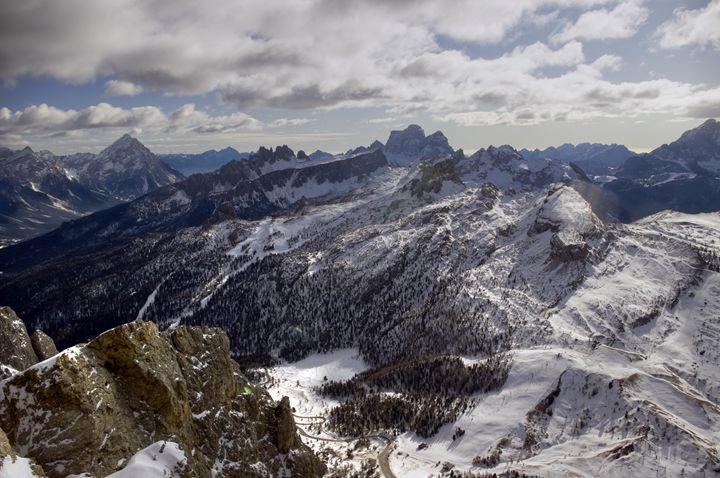 View down the valley - Pluffys portfolio