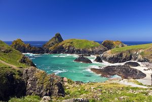 Rugged Cornish coast