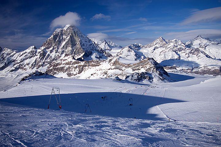 Skiers playground - Pluffys portfolio