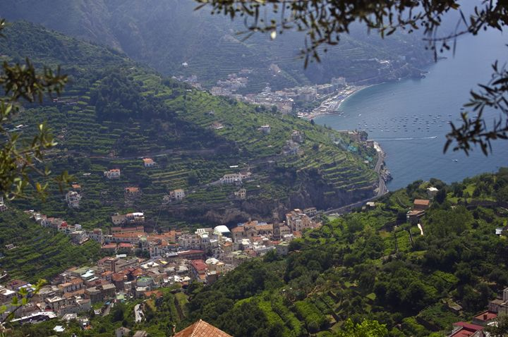 The view from Ravello - Pluffys portfolio