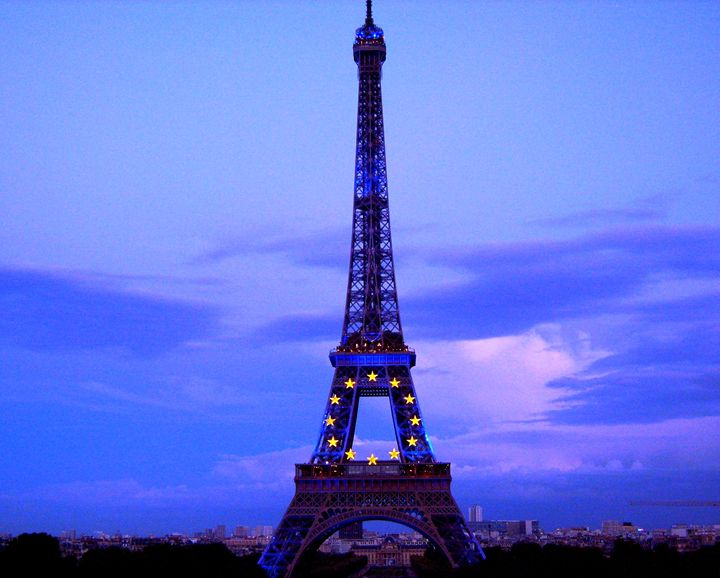 Eiffel Evening - Markell Smith Gallery