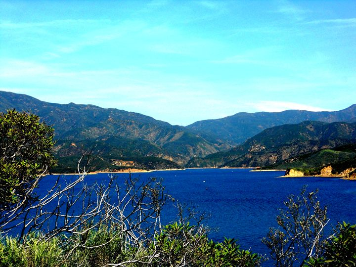 Castaic Lake - Markell Smith Gallery