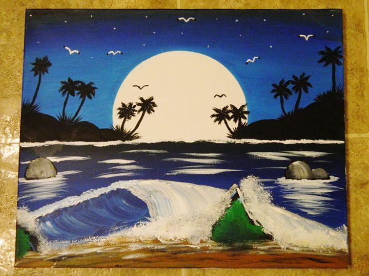 Midnight Moon - Markell Smith Gallery