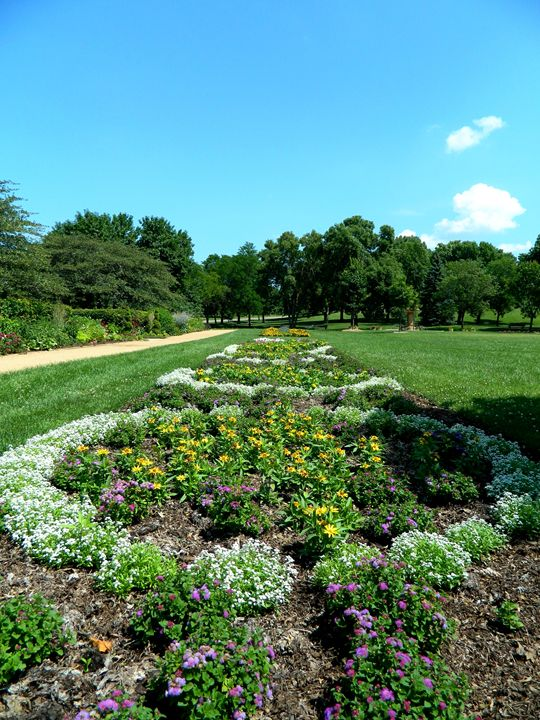 Garden in the Park - Markell Smith Gallery