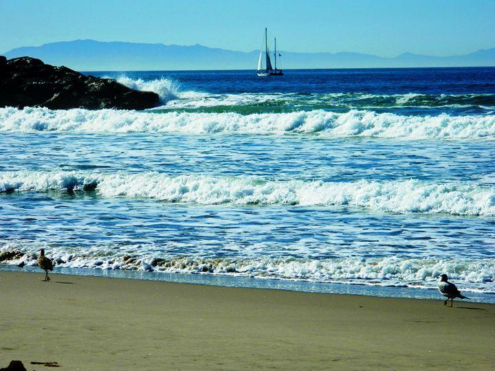 Ventura Beach - Markell Smith Gallery