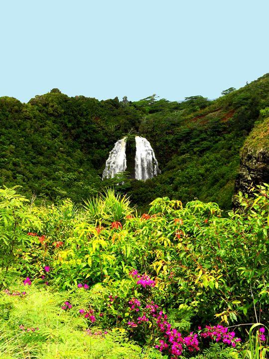 Kauai Falls - Markell Smith Gallery