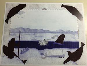 Unique inupiaq print
