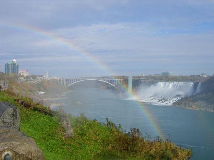 Rainbow Niagra Falls - Tempia
