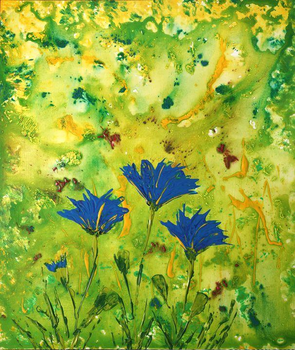 Blue Flowers - eriktanghe